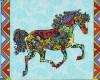 Koňský život, š. 110cm, bloky