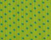 Úplet Puntíky zeleno-tyrkysové, š. 150cm