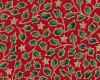 Vánoční cesmína, š. 140cm, červeno - zelená