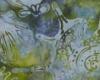 Batika lastury, studené moře, š. 110 cm