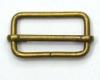 Průvlečná spona kovová š. 40mm, staromosaz