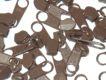 136 Jezdec spirálový pro zip 5mm č. 33, čokoládový